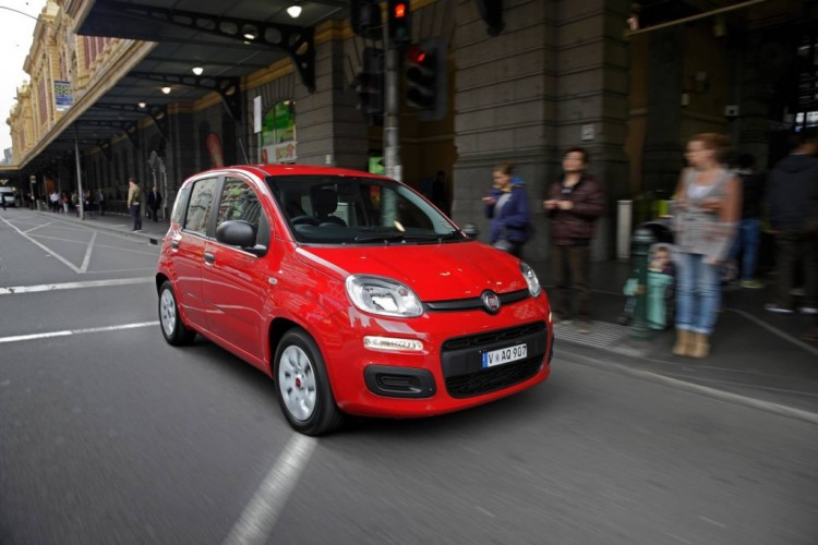 The Fiat Panda's small size makes it a perfect city car