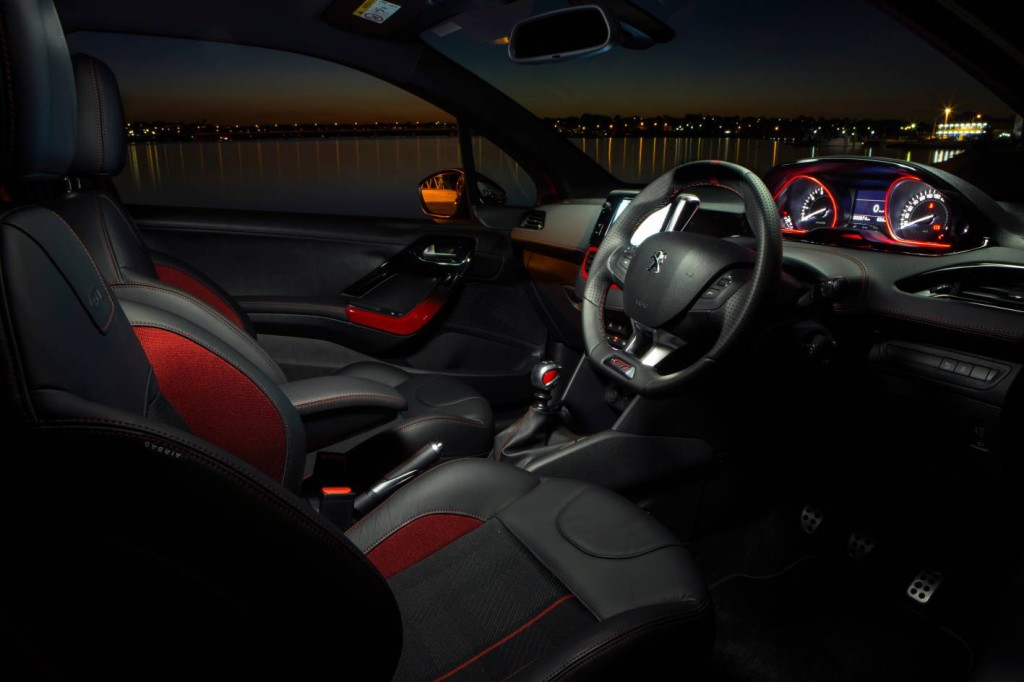 2018 peugeot 208. unique 2018 the peugeot 208 gti offers a more expensive feeling cabin inside 2018 peugeot