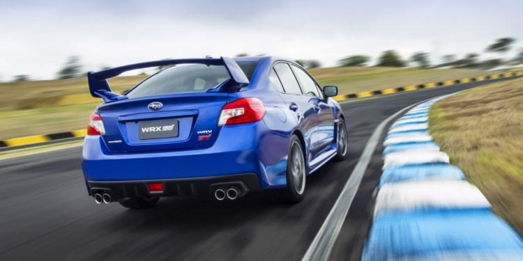 The 2015 Subaru WRX STi in technical detail