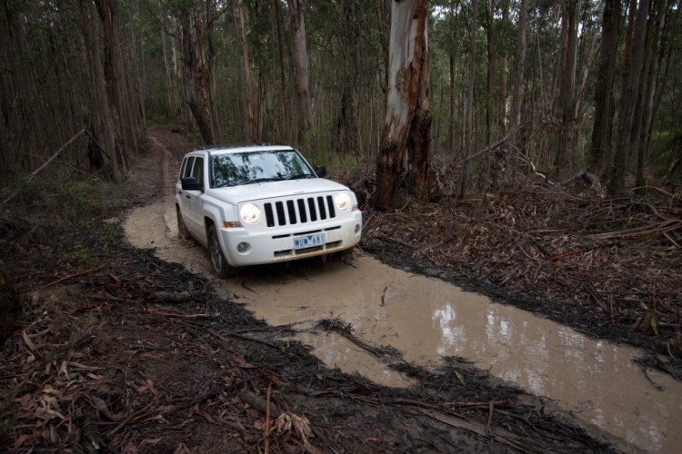4WD means you can handle mud easily