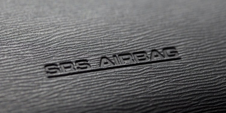 airbag symbol on the dashboard
