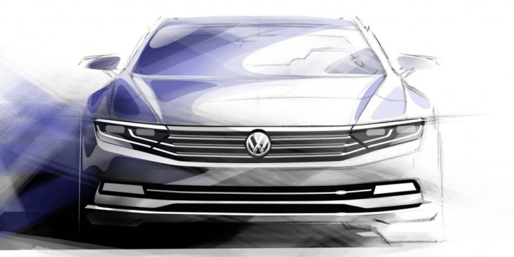 The new Volkswagen Passat will be shown in July 2014