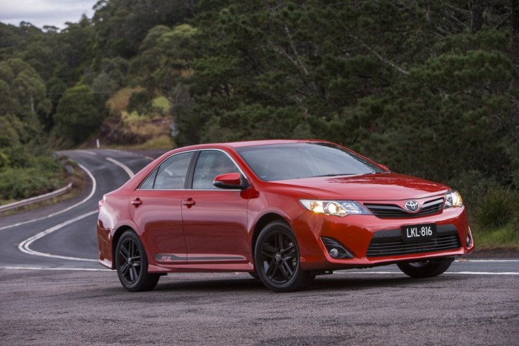 The new Toyota Camry RZ