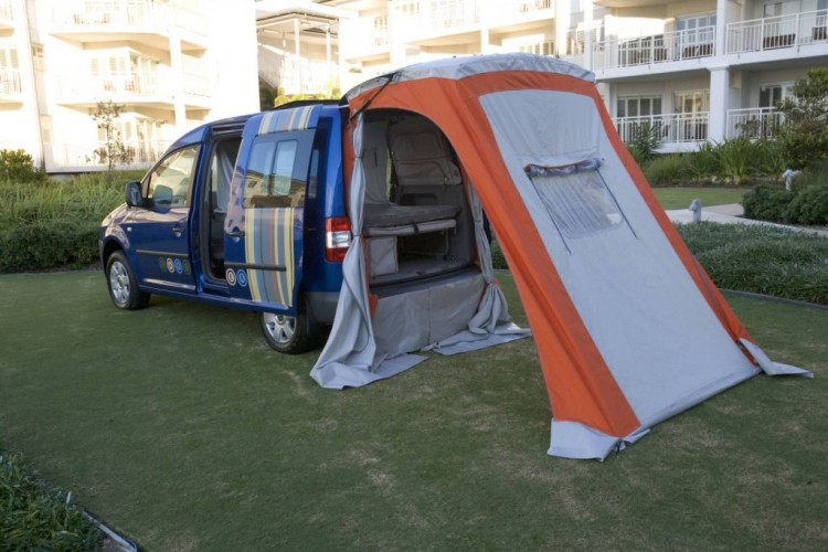 The 2006 Caddy Camper tent