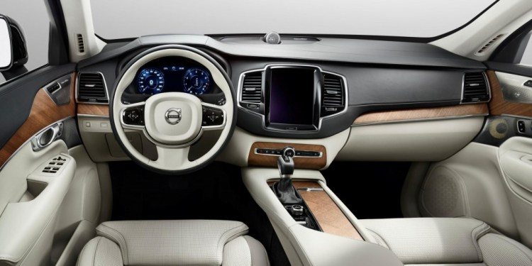 The new Volvo XC90 will have a touchscreen tablet