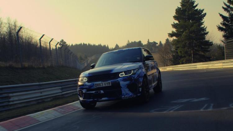 Range Rover SVR gets Nurburgring lap record
