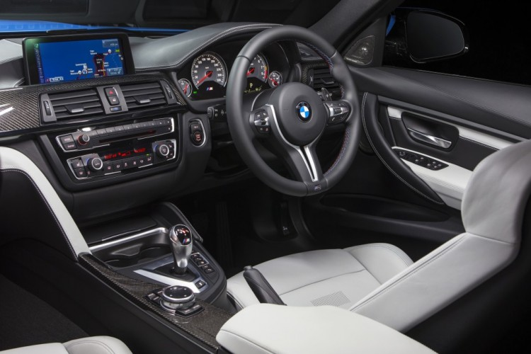 2014 BMW M3 review - Interior