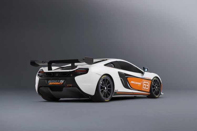 Track-only McLaren 650S Sprint revealed