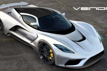 Hennessey Venom F5 - tipped to become the world's fastest car