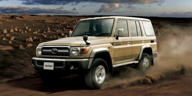 Toyota re-launches 70 Series LandCruiser
