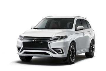 Mitsubishi Outlander PHEV Concept-S revealed