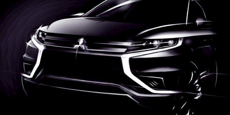 Mitsubishi teases Outlander PHEV Concept-S