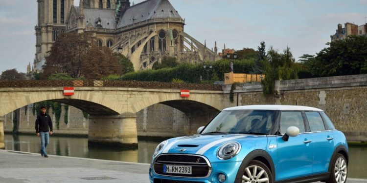 2015 Mini 5 door revealed