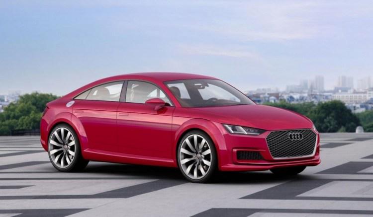 Audi reveals TT Sportback concept in Paris