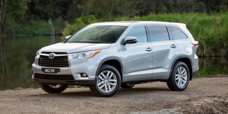 Toyota Kluger recall