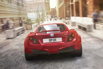 Detroit Electric SP:01 electric sports car revealed