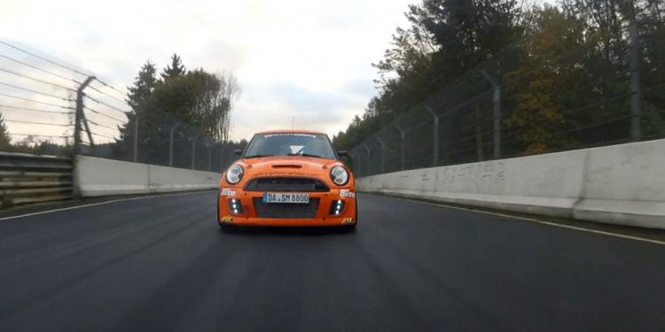 Auto Sport takes modified Mini JCW to nurburgring