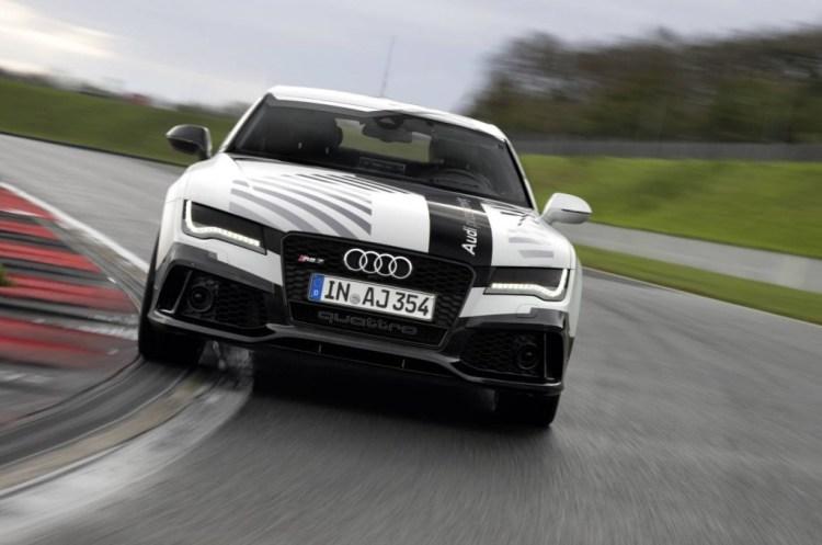 Autonomous Audi RS 7 to lap Hockenheim at race pace