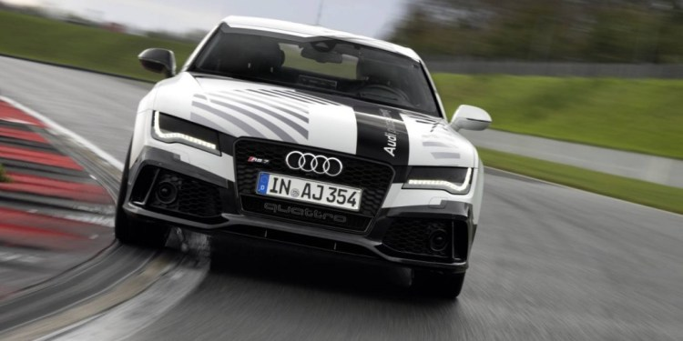 Autonomous Audi RS 7 to lap Hockenheim at race pace