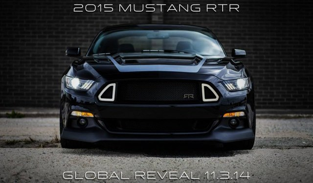 2015 Ford Mustang RTR teased