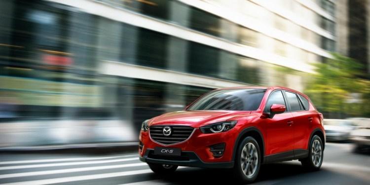 Facelifted 2015 Mazda CX-5 revealed