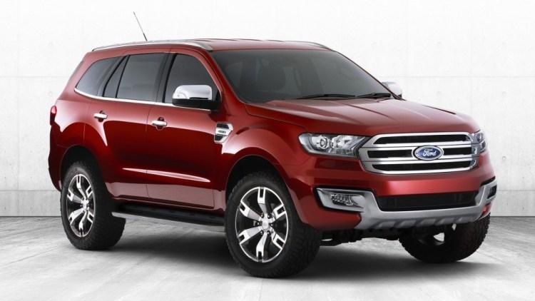 2015 Ford Everest to be revealed on November 14