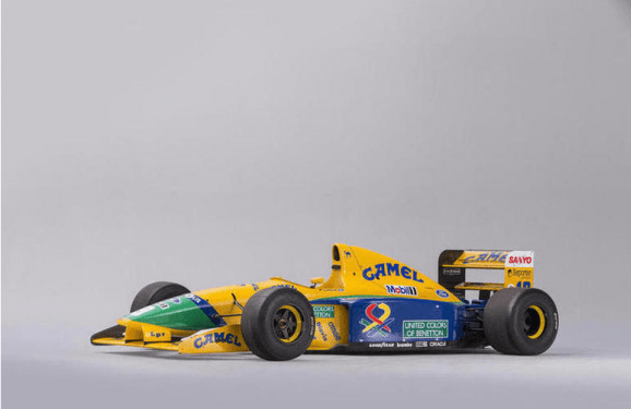 Own the ex-Michael Schumacher F1 car