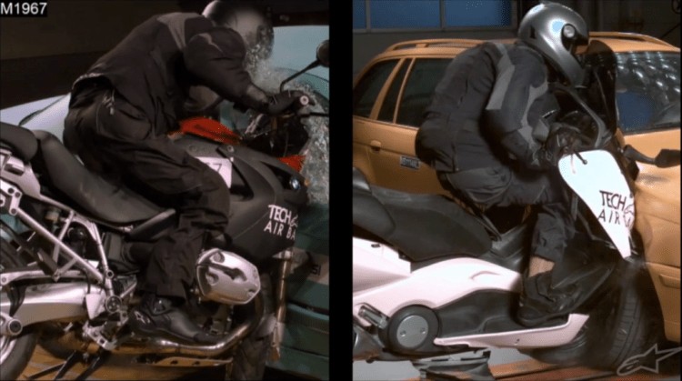 Alpinestars tech air airbag system for motorbikes