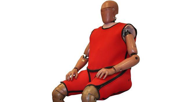 obese crash test dummy introduced