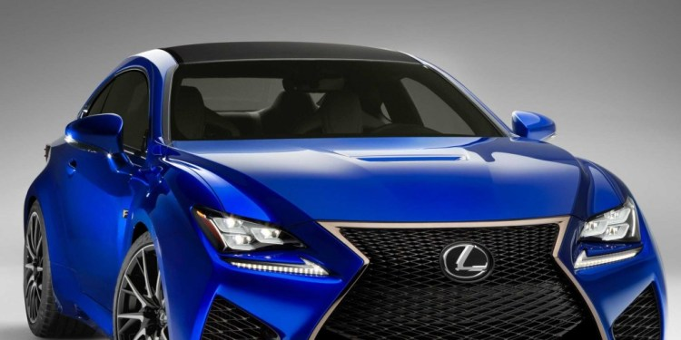Lexus could enter V8 Supercars with the 2015 RC-F