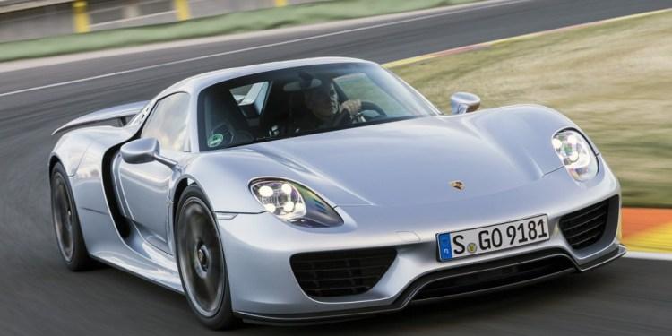 Porsche 918 Spyder recalled