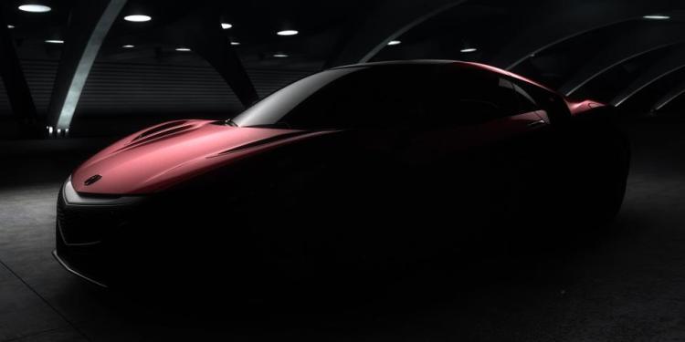 2015 Honda NSX teased