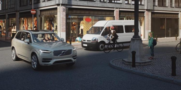 Volvo presents wearable cycling technology to prevent collisions between cars and bicycles
