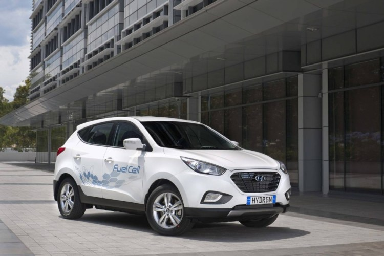 Hyundai ix35 Fuel Cell arrives in Australia