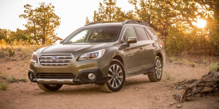 5 star ANCAP rating for 2015 Subaru Outback and Liberty