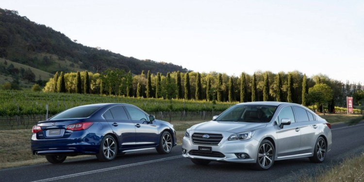 Subaru Outback and Liberty get a price cut