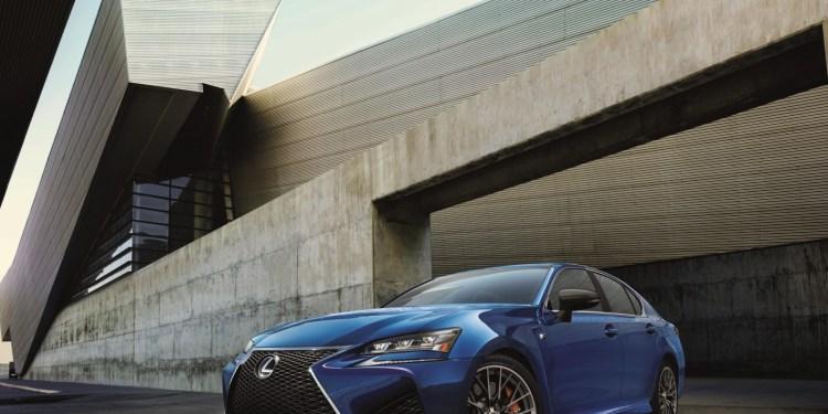 2016 Lexus GS F revealed