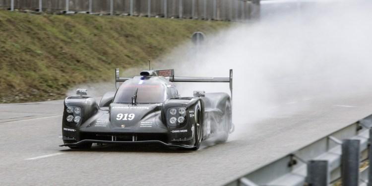 2015 Porsche 919 Hybrid revealed