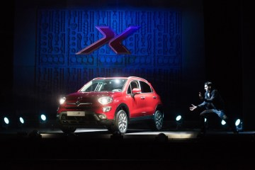 Fiat 500X launched by Dynamo the magician