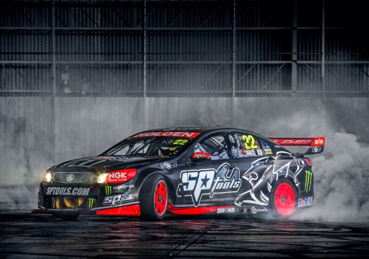 Monstery Energy partners with HRT for 2015 V8 Supercars