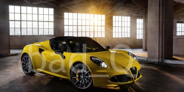 2015 Alfar-Romeo 4C Spider