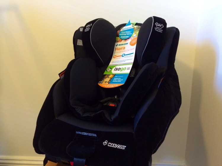 How to install an isofix car seat