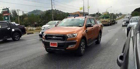 2015 ford ranger wildtrak spied