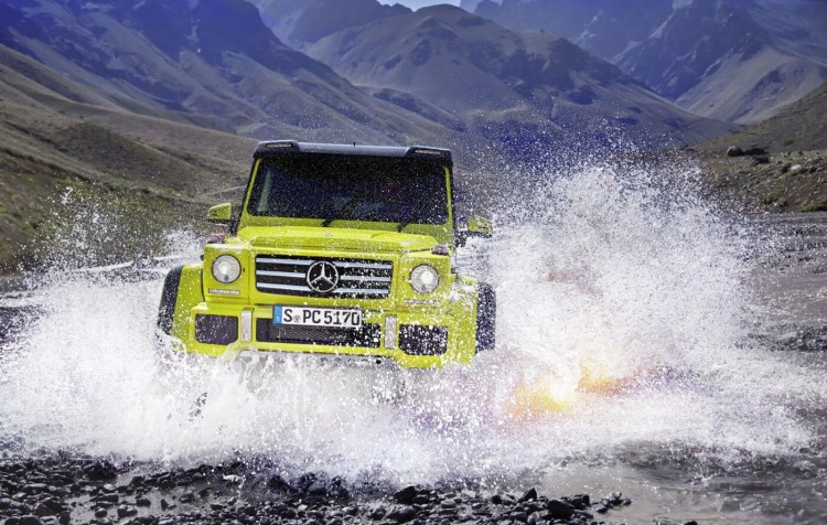 Mercedes-Benz G500 4x4² details revealed