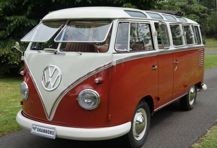 1960 Volkswagen Samba to break auction records