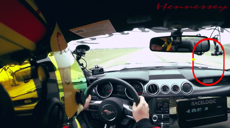 Mustang HPE700 hits 312km/h