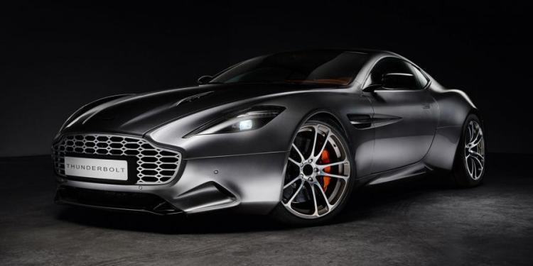 Fisker Aston Martin Vanquish-based Thunderbolt concept