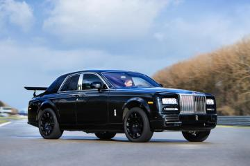 Rolls Royce Project Cullinan crossover revealed