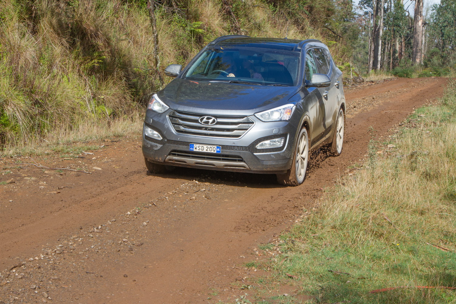 2015 Hyundai Santa Fe Highlander off-road tech test
