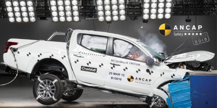 2015 Mitsubishi Triton scores 5 star ancap rating